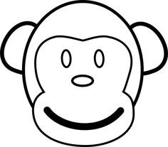 Hanging Monkey Template | Clipart Panda   Free Clipart Images