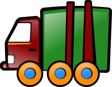 Red Car Kids Cartoon Truck Clipart Panda Free Clipart Images
