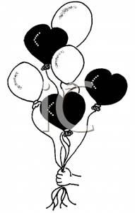 happy%20birthday%20balloon%20clipart%20black%20and%20white