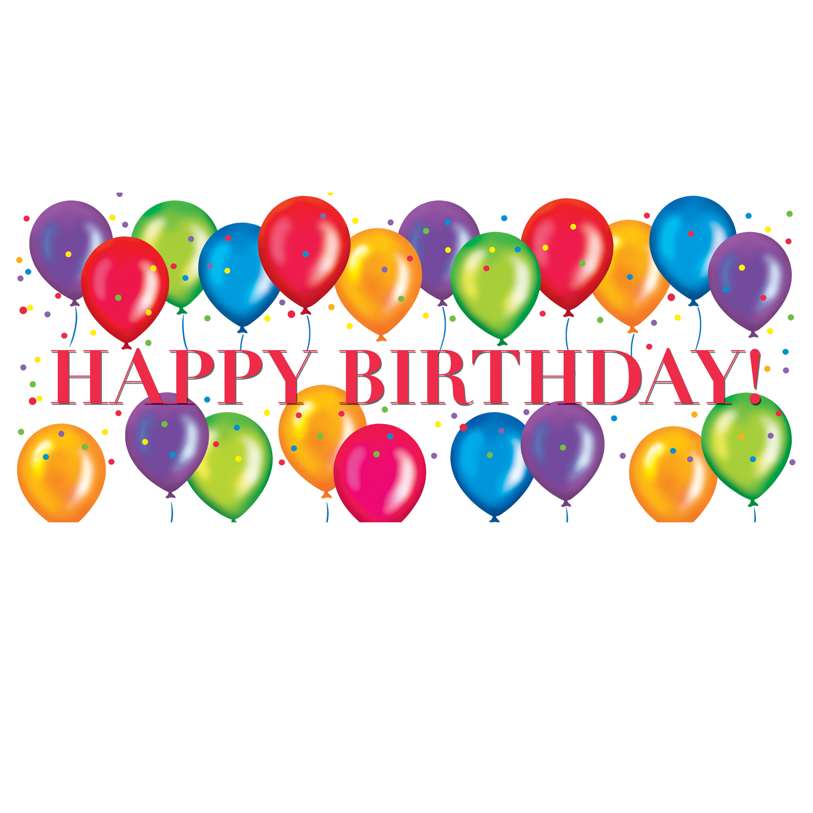 clipart for happy birthday - photo #38