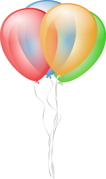 happy birthday balloons clipart clipart panda free clipart images rh clipartpanda com birthday balloons clipart transparent birthday balloon clip art free images