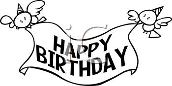 Free Happy Birthday Stencil For Cake