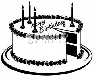 happy%20birthday%20cake%20clipart%20black%20and%20white