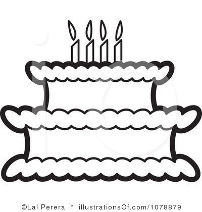 RF Birthday Cake Clipart