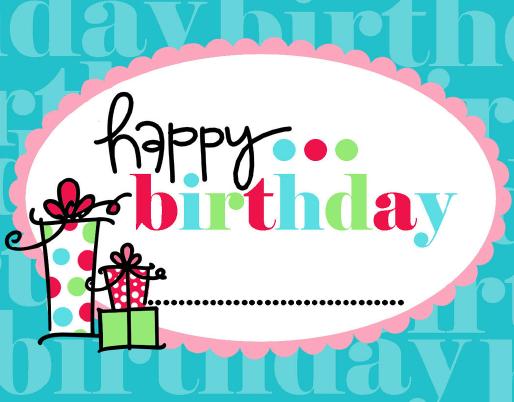 Free Printable Happy Birthday Tag