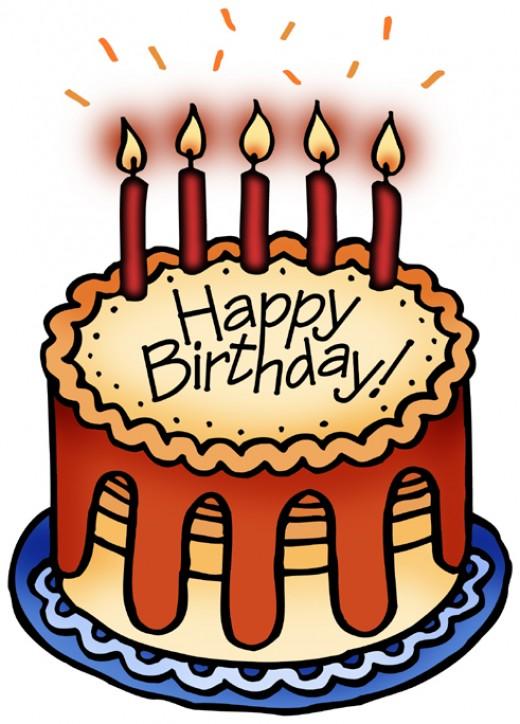 Happy Birthday Chocolate Cake For Friend Clipart Panda Free