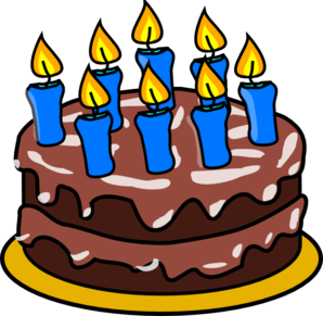 Clip Art Of Happy Birthday Cakes