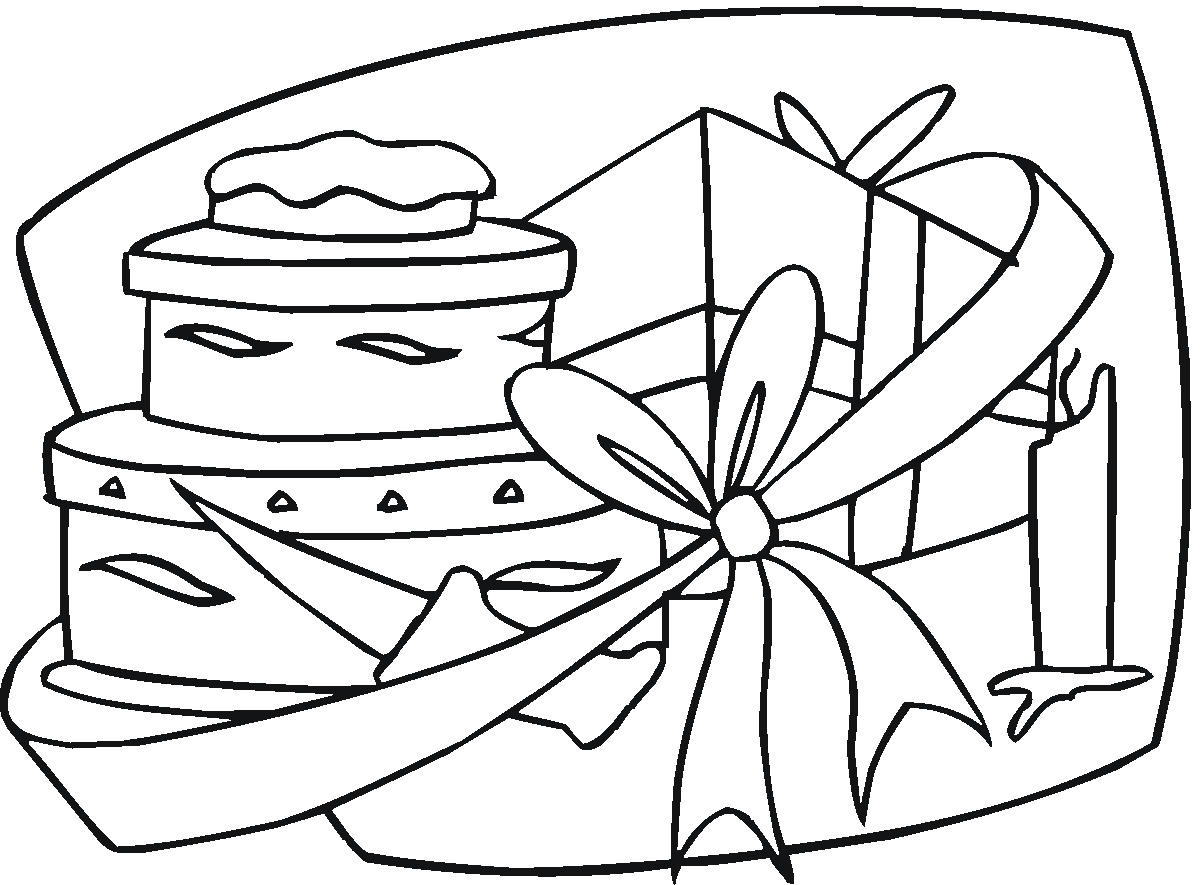 birthday grandmother coloring pages - photo#34