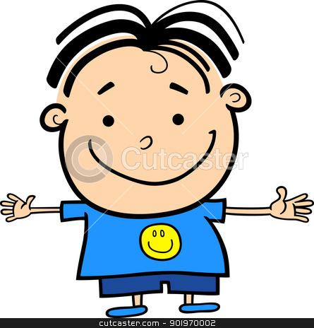 Happy Boy Clipart