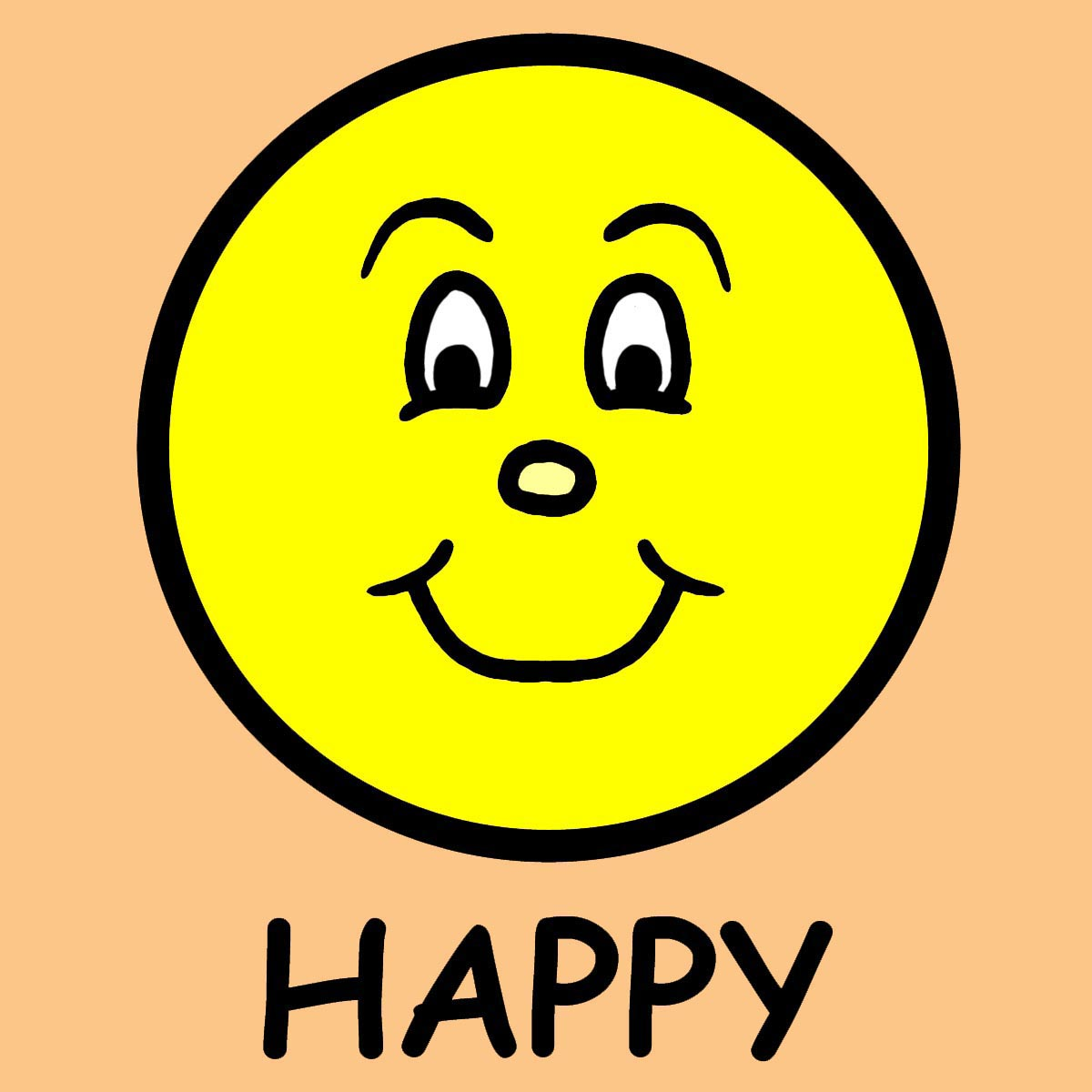 clipart for happy - photo #1