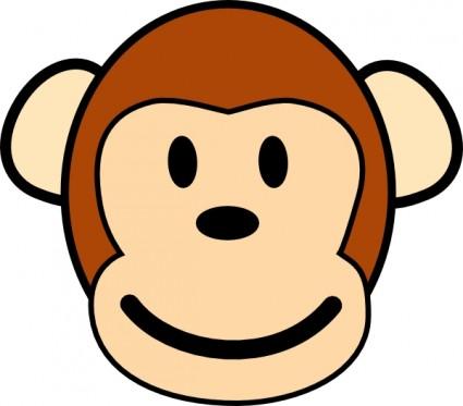 baby monkey face clip art clipart panda free clipart images rh clipartpanda com Cute Monkey Face Clip Art Cute Monkey Face Clip Art