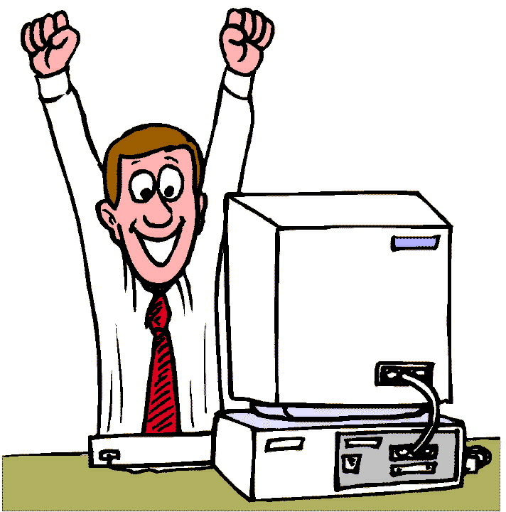 computer user clipart free - photo #5