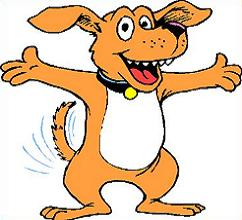 Happy dog clipart - photo#5