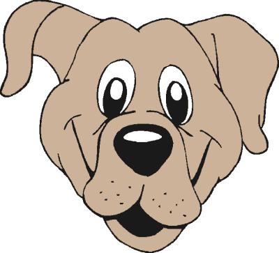 Happy dog clipart - photo#15