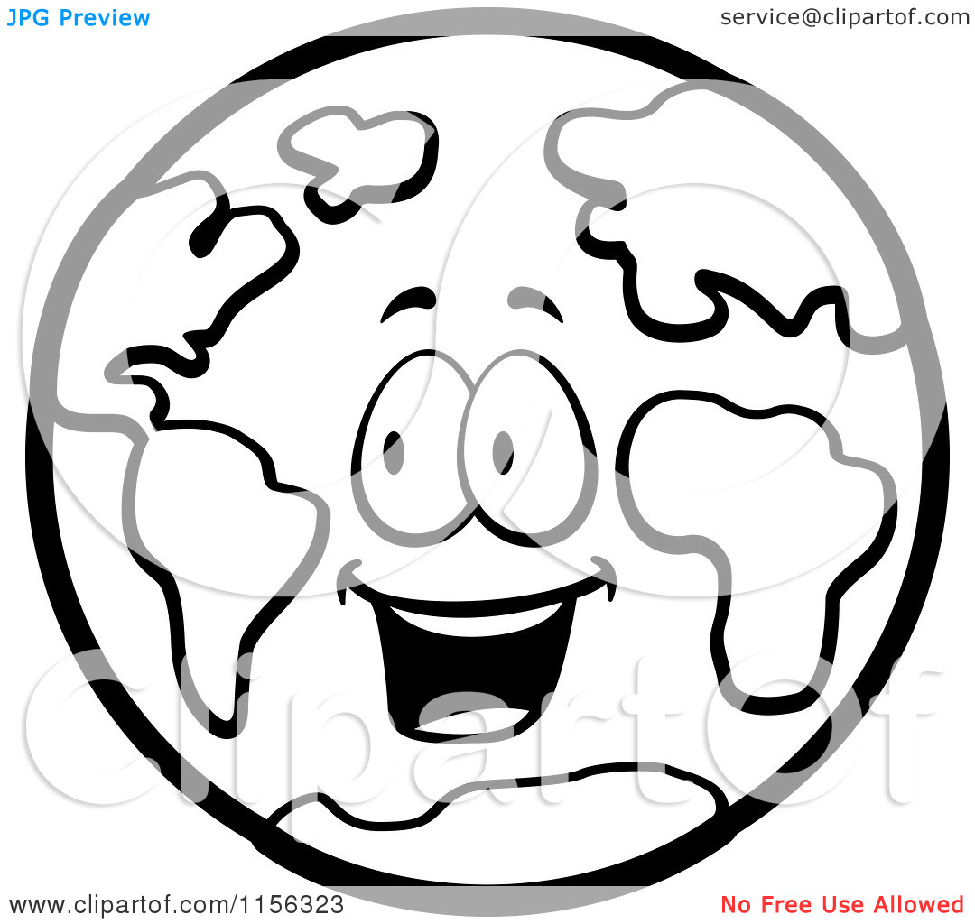happy earth cartoon clipart panda free clipart images