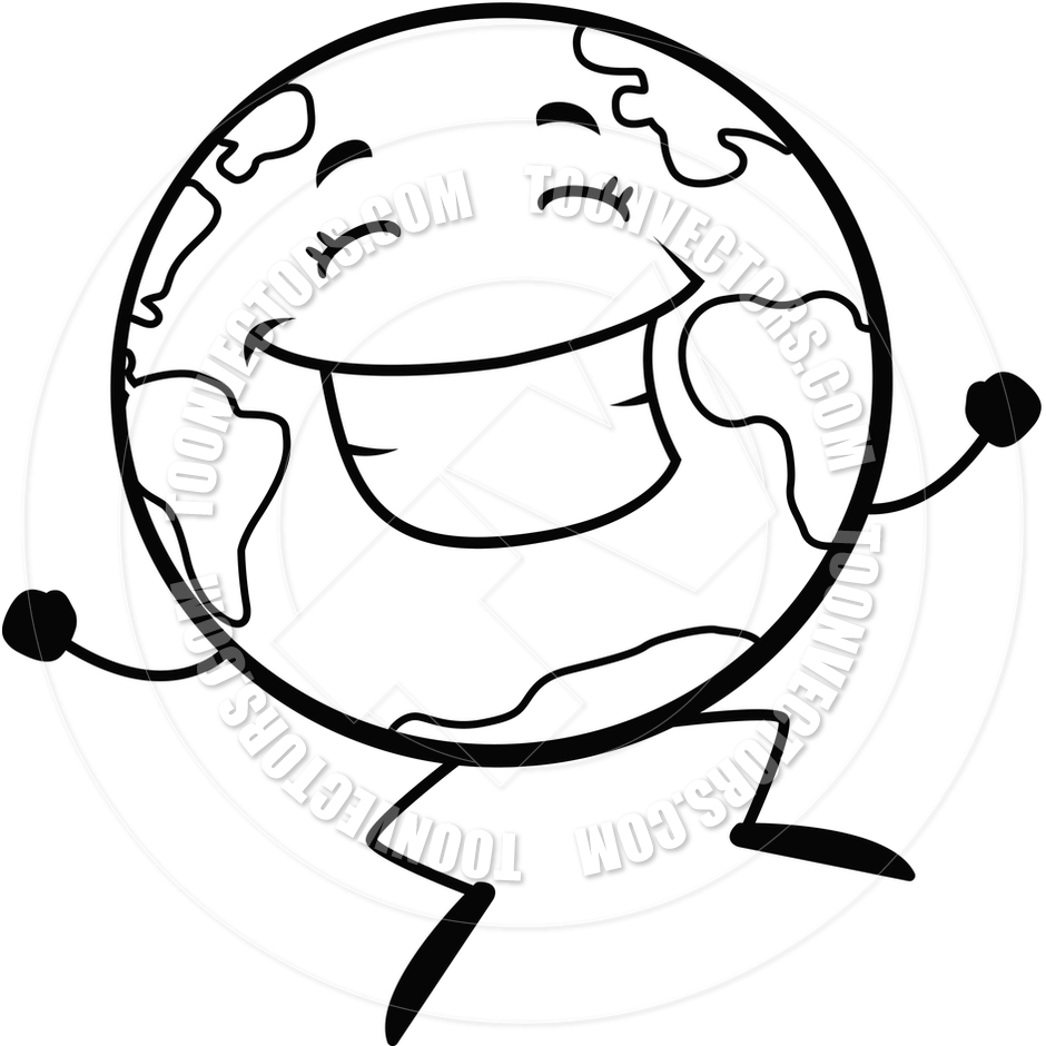 earth clipart black and white clipart panda free