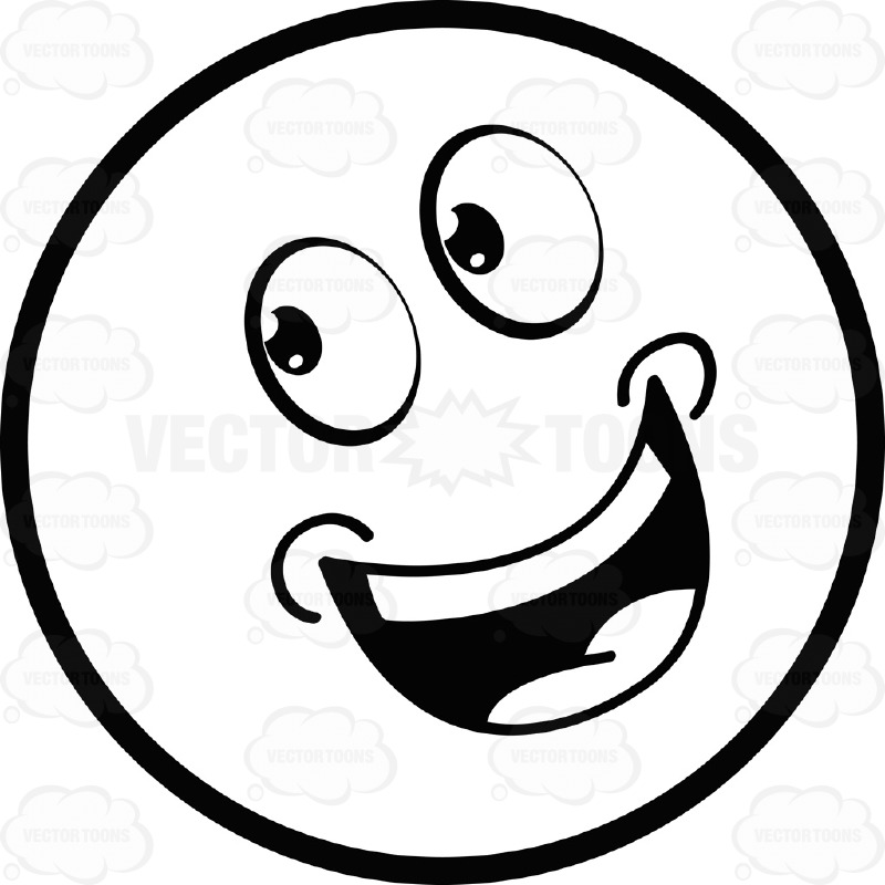 happy face black and white black and white smiley collection 015.jpg