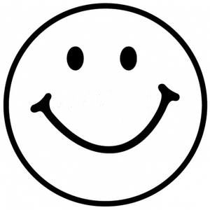 Smiley Face Black And White | Clipart Panda - Free Clipart ...