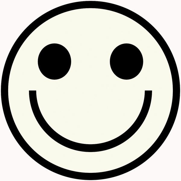 Smiley Face Symbol Black And White | Male Models Picture