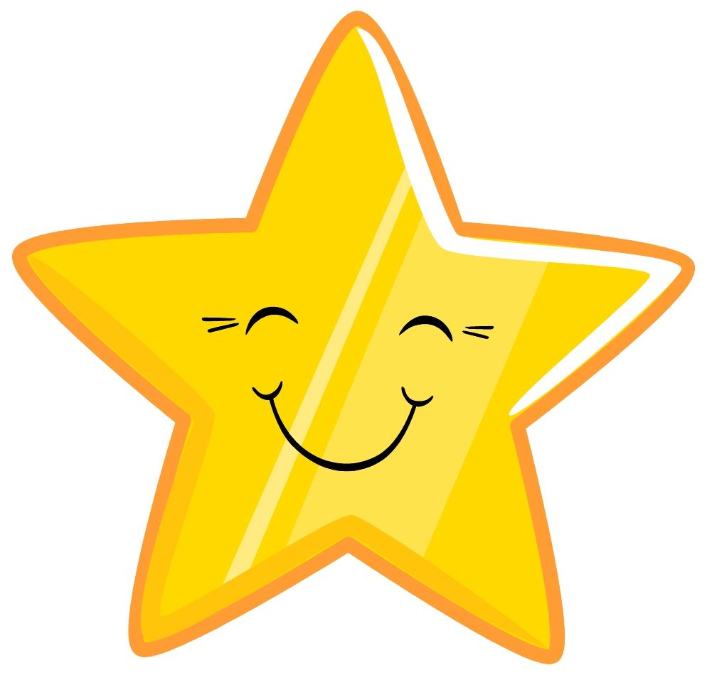 happy star clip art - photo #3