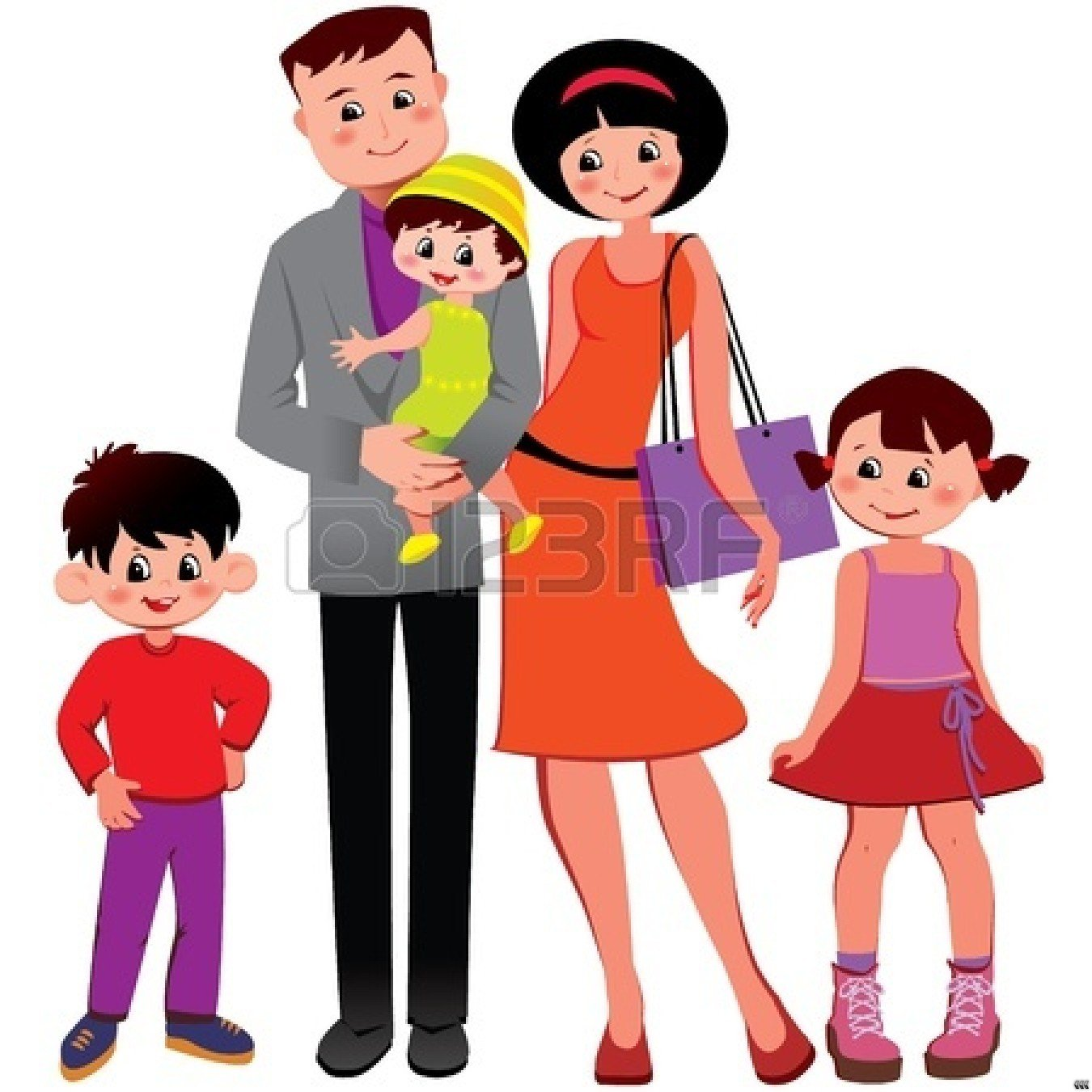 happy-family-clipart-black-and-white-happy-family-clip-art-black-and    Happy Family Cartoon Black And White