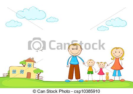 happy%20family%20house%20clipart