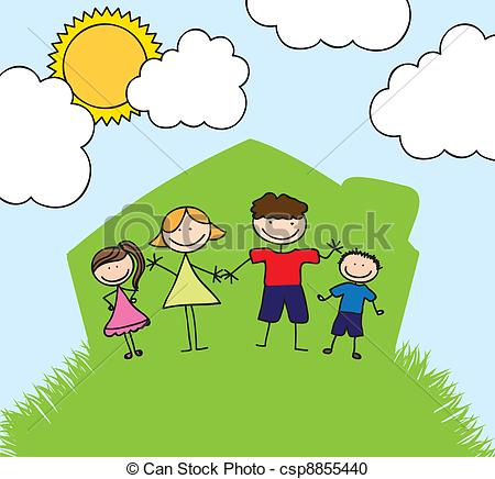 Happy Family House Clipart | Clipart Panda - Free Clipart ...