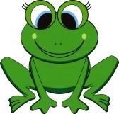 Happy frog clip art clipart panda free clipart images - Dessin de grenouille verte ...
