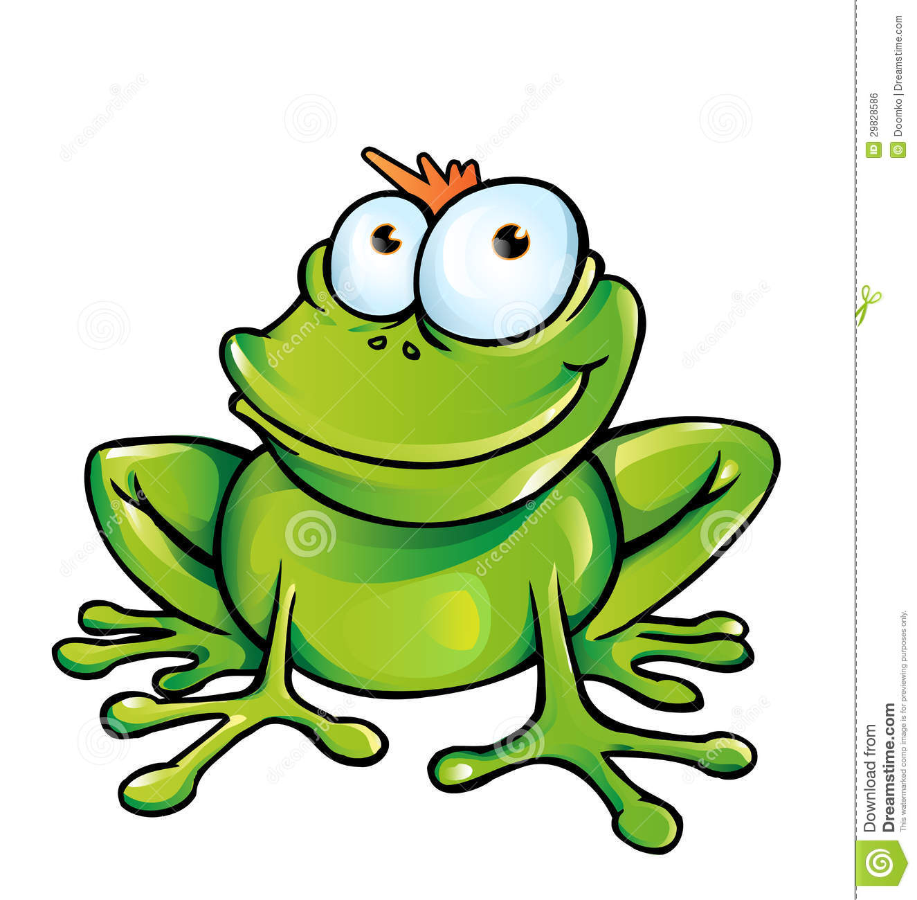 Cartoon frog - photo#25