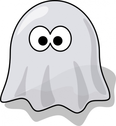Cartoon Ghost clip art vector  Clipart Panda  Free Clipart Images