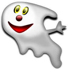 Cartoon Of A Happy Ghost Clipart Panda Free Clipart Images