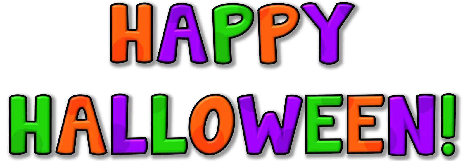 Happy Halloween Clip Art | Clipart Panda - Free Clipart Images