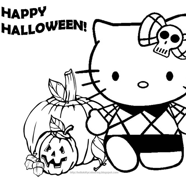 hello kitty dot to dot coloring pages - happy halloween coloring pages clipart panda free