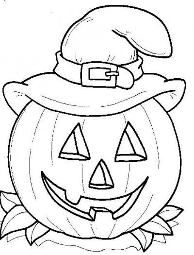 Happy Halloween Coloring Pages | Clipart Panda - Free ...