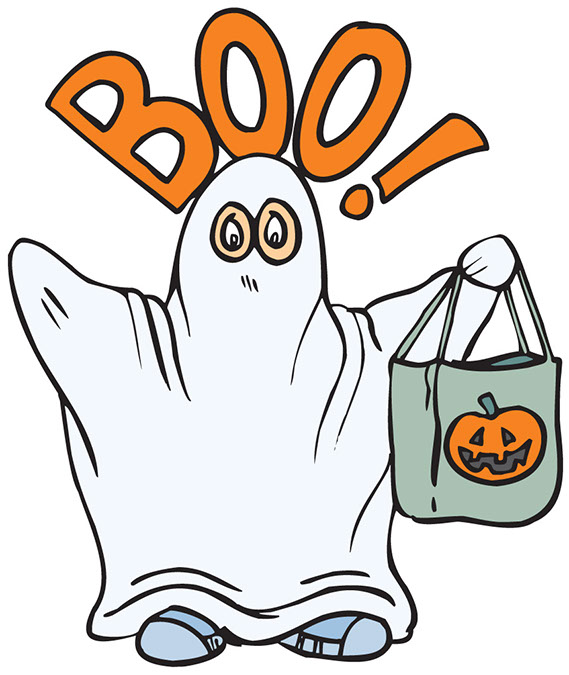 Happy Halloween Ghost | Clipart Panda - Free Clipart Images