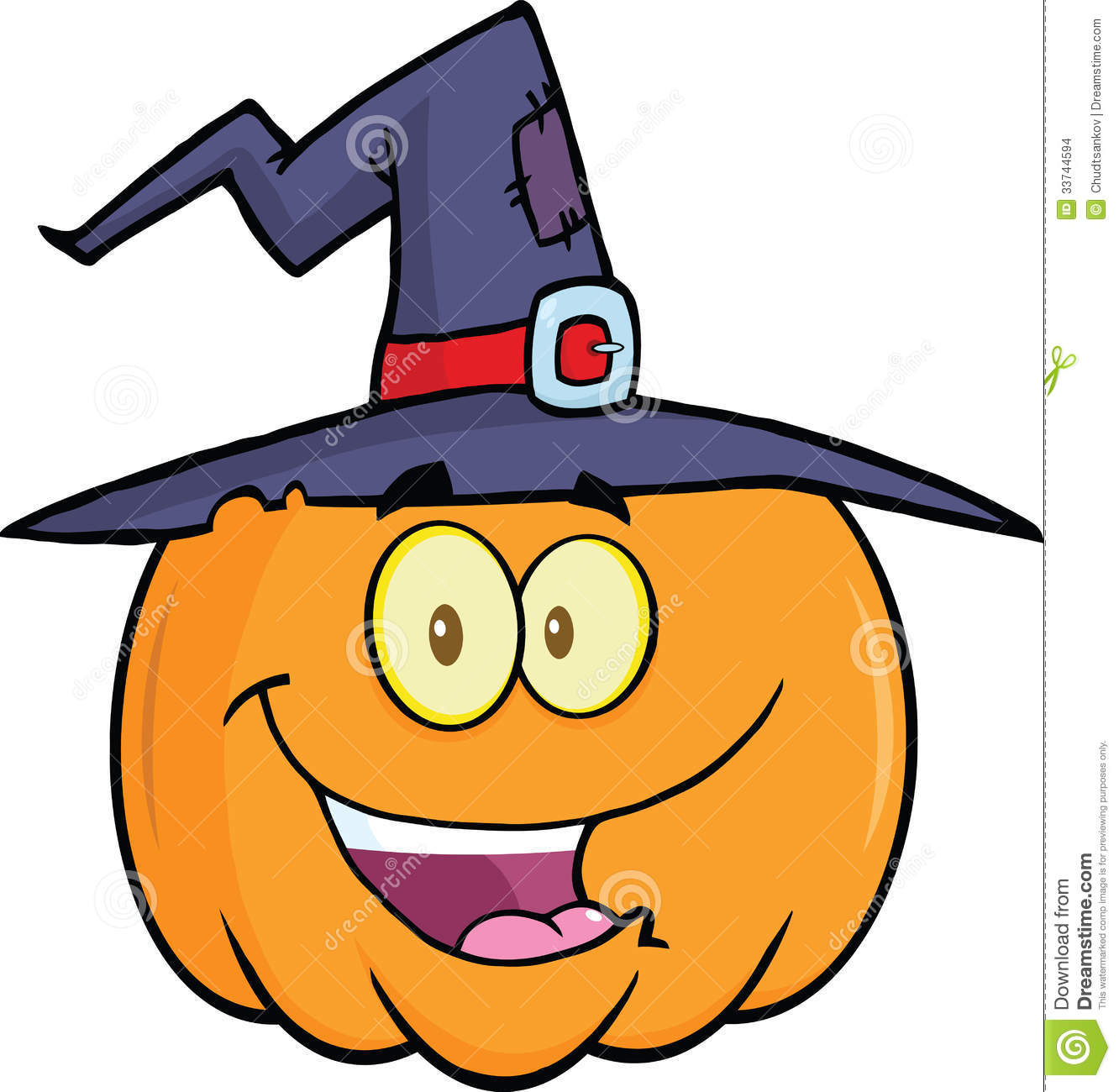 Halloween Witch Cat Clipart Free