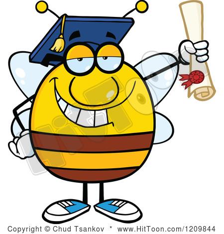 happy-high-school-student-clipart-1209844-cartoon-of-a-happy-bee ... Happy High School Student Clipart