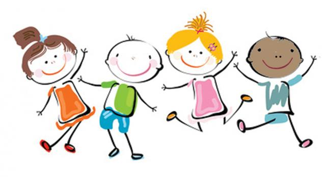 Happy School Kids Clipart
