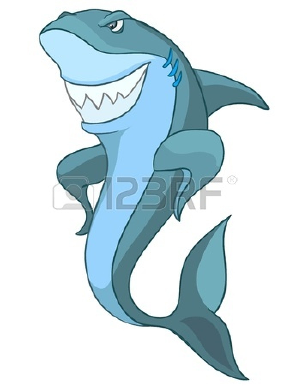 Happy Shark Clip Art | Clipart Panda - Free Clipart Images