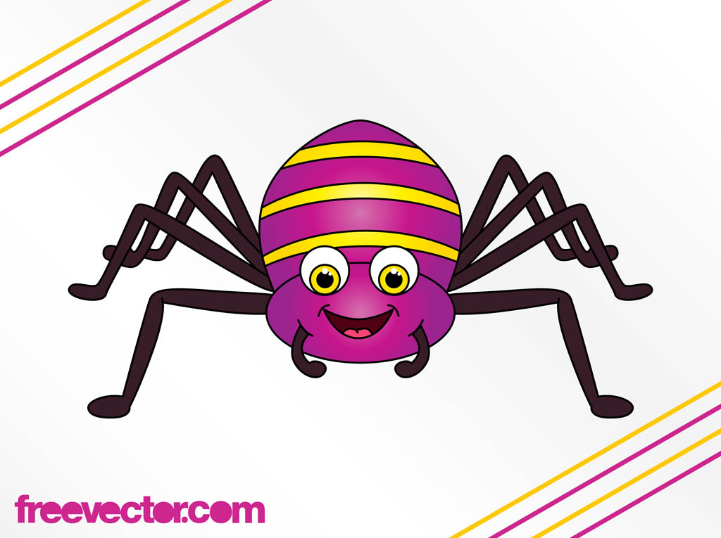 Happy Cartoon Spider | Clipart Panda - Free Clipart Images