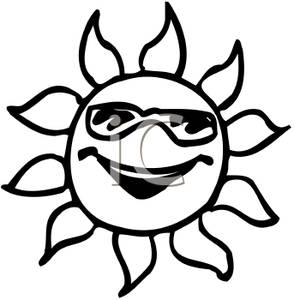 a happy sun clip art image clipart panda free clipart images Bee Clip Art clipart info