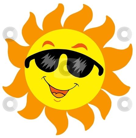 Happy Sun With Sunglasses   Clipart Panda - Free Clipart ...