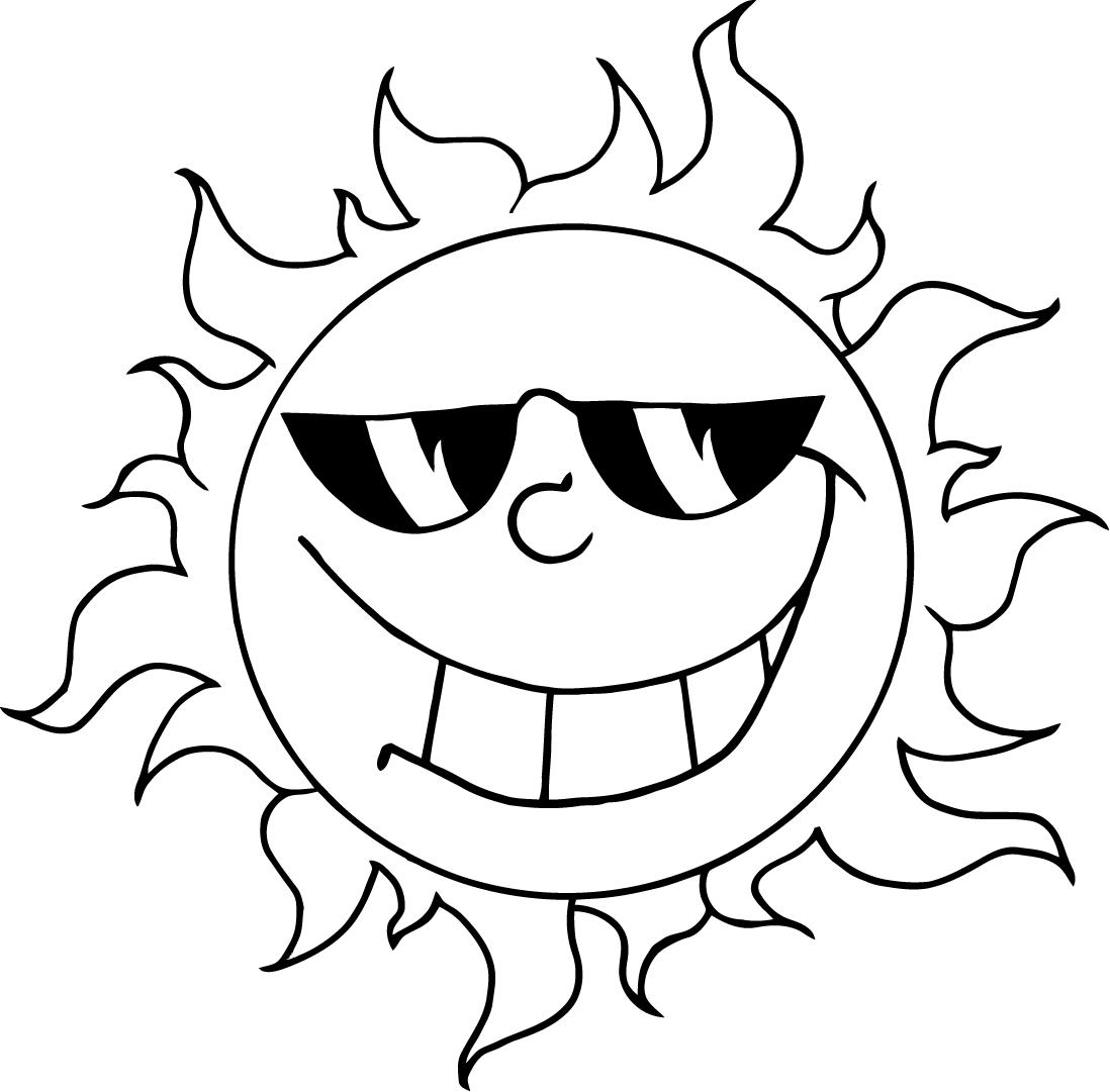 Emoji Coloring Pages Sunglasses