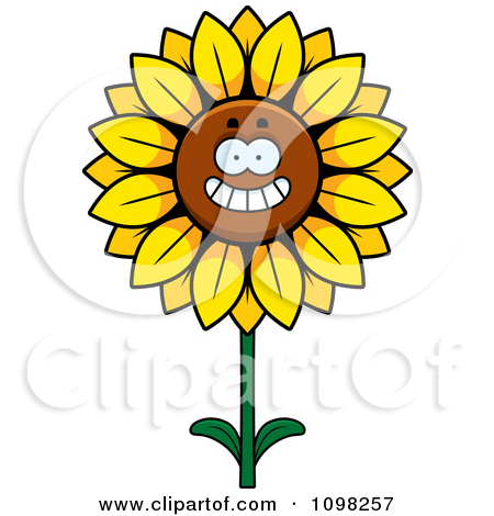 Happy Smiling Sunflower | Clipart Panda - Free Clipart Images