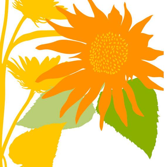 Sunflower Border Clipart | Clipart Panda - Free Clipart Images