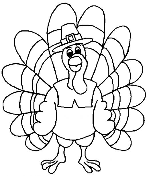 Thanksgiving Coloring Pages Toddlers Coloring Pages