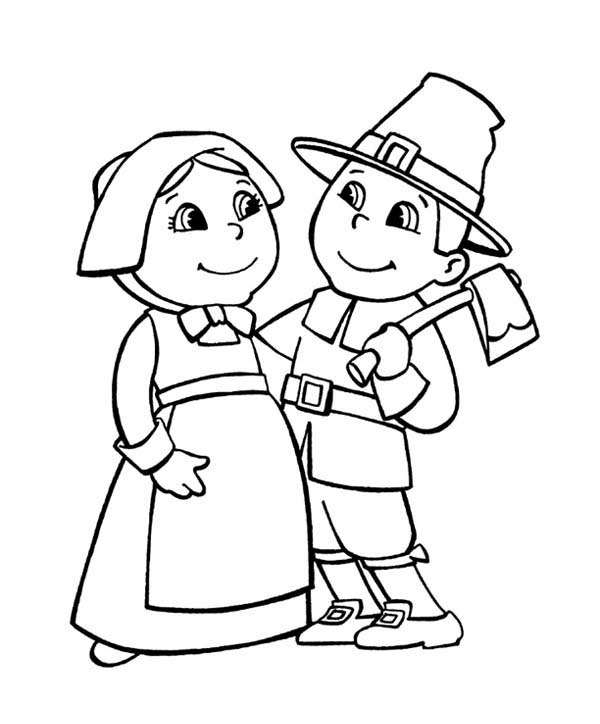 Pilgrim S Progress Coloring Page