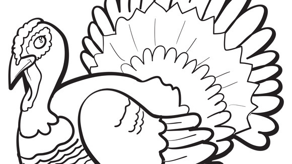 happy20thanksgiving20turkey20coloring20pages - Coloring Pages Thanksgiving