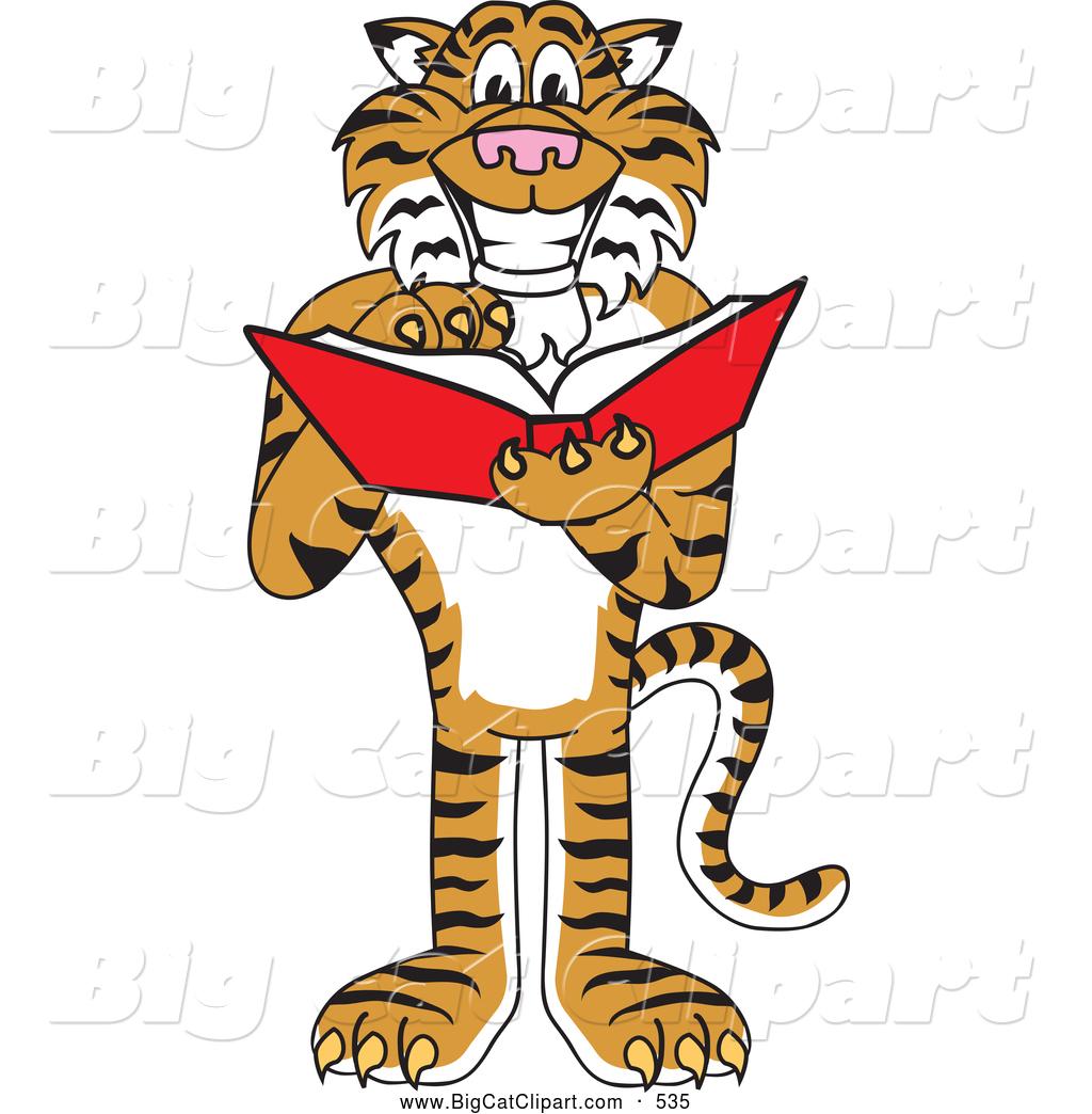 Cartoon Characters Reading : Happy tiger face clip art clipart panda free