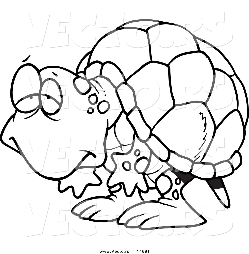 Tortoise clipart black and white clipart panda free for Tortoise and the hare coloring page